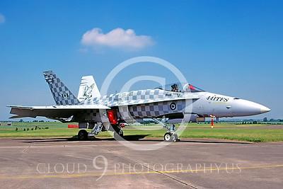 EE-F-18Forg 00001 McDonnell Douglas F-18 Hornet Canadian Armed Forces by Raymond Bosselaar