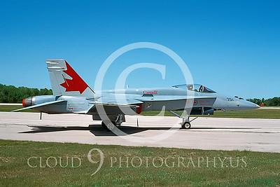 EE-F-18FORG 00007 McDonnell Douglas CF-18 Hornet Canadian Armed Forces June 1996 via AASS