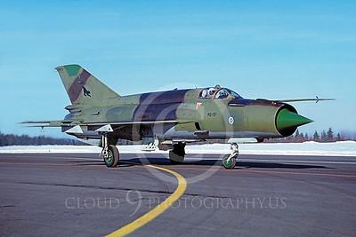 Mikoyan-Guryevich MiG-21 Fishbed 00019 Mikoyan-Guryevich MiG-21 Fishbed Finnish Air Force MG-131 via African Aviation Slide Service