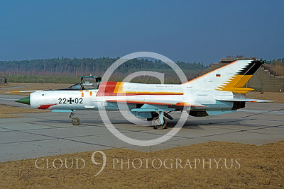 EE-MiG-21 00001 German Air Force March 1991 by Wolfgang Greweling via African Aviation Slide Service