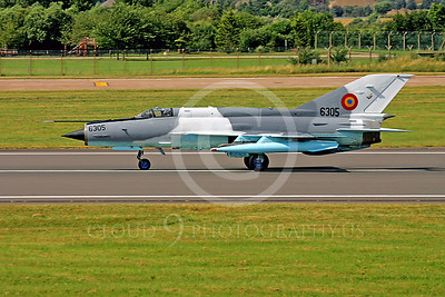 Mikoyan-Guryevich MiG-21 Fishbed 00017 Mikoyan-Guryevich MiG-21 Fishbed Romanian Air Force 6305 by Paul Ridgway