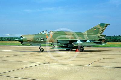 Mikoyan-Guryevich MiG-21 Fishbed 00001 Mikoyan-Guryevich MiG-21 Fishbed German Air Force 2422 July 1991 by Wilfreid Zetsche