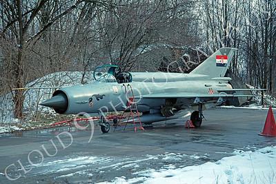 Mikoyan-Guryevich MiG-21 Fishbed 00029 Mikoyan-Guryevich MiG-21 Fishbed Polish Air Force via African Aviation Slide Service