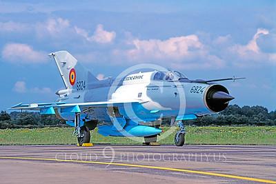 Mikoyan-Guryevich MiG-21 Fishbed 00011 Mikoyan-Guryevich MiG-21 Fishbed Romanian Air Force by Raymond Bosselaar