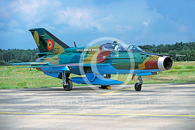 Mikoyan-Guryevich MiG-21U 00003 Mikoyan-Guryevich MiG-21U Romanian Air Force September 2000 via African Aviation Slide Service