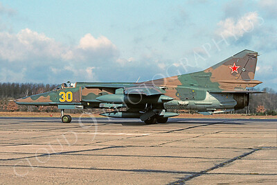 MiG-23 00015 Mikoyan-Guryevich MiG-23 Flogger 23 March 1993 via African Aviation Slide Service