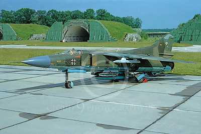 Mikoyan-Guryevich MiG-23 Flogger 00005 Mikoyan-Guryevich MiG-23 Flogger German Air Force 2005 by Meinolf Krassort July 1991 via African Aviation Slide Service