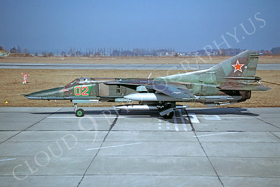 MiG-23 00017 Mikoyan-Guryevich MiG-23 Flogger March 1993 via African Aviation Slide Service
