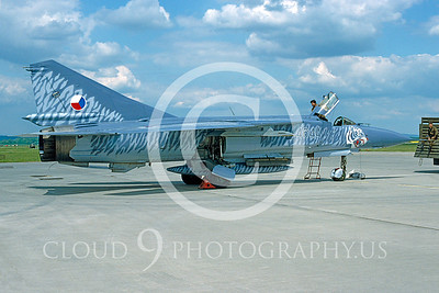 EE-MiG-23 00001 Mikoyan-Guryervich MiG-23 Flogger Czech Air Force May 1995 via AASS