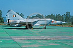 MiG-25R 00017 A static Indian Air Force Mikoyan-Guryevich MiG-25R Foxbat strategic recce jet aircraft military airplane pictre by P  Steinemann