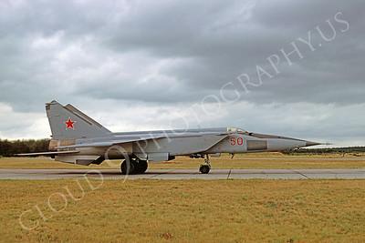 MiG-25 00015 Mikoyan-Guryevich MiG-25 Foxbat October 1991 via African Aviation Slide Service