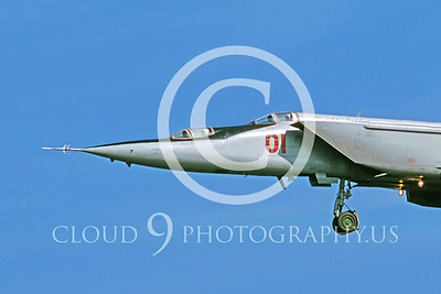 CUNMJ 00046 Mikoyan-Gureyvich MiG-25PU Foxbat Soviet 1991 by Wilfried Zetsche AirDOC Collection