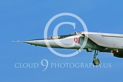 CUNMJ 00046 Mikoyan-Gureyvich MiG-25PU Foxbat Soviet 1991 by Wilfried Zetsche AirDOC Collection