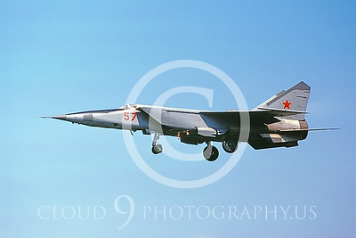 MiG-25 00002 Mikoyan-Gureyvich MiG-25 Foxbat Soviet 1991 by Wolfgang Greweling AirDOC Collection