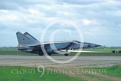 MiG-25 00007 Mikoyan-Gureyvich MiG-25 Foxbat Soviet 1991 by Wilfried Zetsche AirDOC Collection