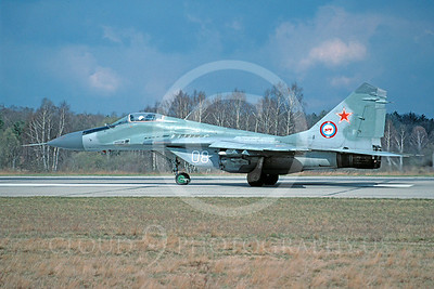 MiG-29 00021 Mikoyan-Guryevich MiG-29 Soviet Air Force via African Aviation Slide Service