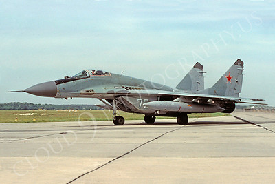 MiG-29 00015 Mikoyan-Guryevich MiG-29C Soviet Air Force 11 May 1993 via African Aviation Slide Service