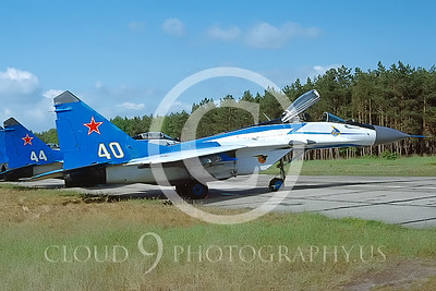 MiG-29 00005 Mikoyan-Gureyvich MiG-29 Soviet 1992 by Wilfried Zetsche AirDOC Collection