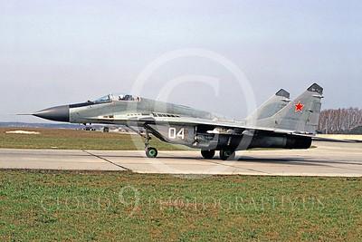 MiG-29 00023 Mikoyan-Guryevich MiG-29 Fulcrum Soviet Air Force May 1993 by MarinusTabak