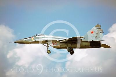 MiG-29 00002 Mikoyan-Gureyvich MiG-29 Fulcrum Soviet 1992 by Wilfried Zetsche via AirDOC Collection