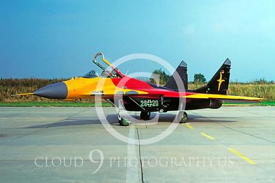 EE-MiG-29 00001 Mikoyan-Guryevich MiG-29 German Air Force by Wilfreid Zetsche