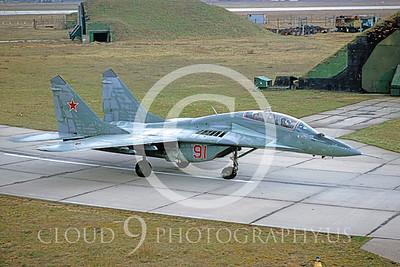 MiG-29 00001 Mikoyan-Gureyvich MiG-29 Fulcrum Soviet 1993 by W Zetsche via AirDOC Collection