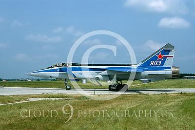 MiG-31 00001 Mikoyan-Gureyvich MiG-31 Foxhound Soviet1992 by Wilfried Zetsche AirDOC Collection