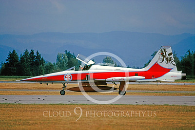 EE-F5E 00003 Northrop F-5E Freedom Fighter Canadian Armed Forces Aug 1989 by Peter J Mancus