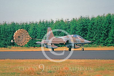 CHUTE 00098 Northrop F-5 Freedom Fighter Dutch Air Force by Wilfried Zetsche