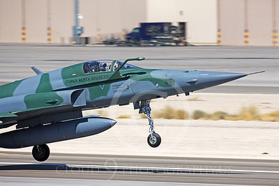 CUNMJ 00062 Northrop F-5E Freedom Fighter Brazilian Air Force Nellis AFB by Peter J Mancus