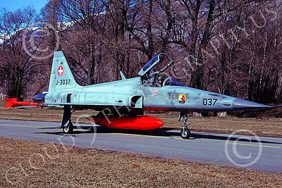 F-5Forg 00045 Northrop F-5E Freedom Fighter Swiss Air Force J-3037 April 2003 by MarinusTabak