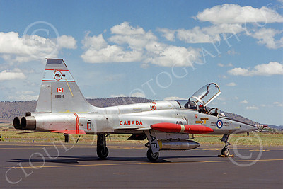 F-5Forg 00053 Northrop F-5F Freedom Fighter Canadian Armed Forces 116818 Kingsley Field by Peter J Mancus