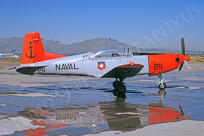 Pilatus PC-7 00001 Pilatus PC-7 Chilean Naval Aviation August 1997 via African Aviation Slide Service