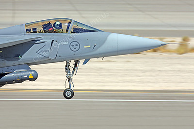 CUNMJ 00087 SAAB JAS 39 Gripen Swedish Air Force by Peter J Mancus