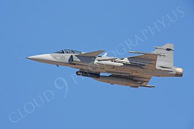 SAAB JAS 39 Gripen 00020 Swedish Air Force by Peter J Mancus