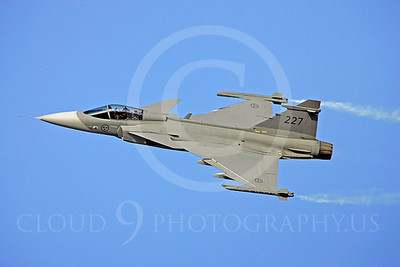 Grippen 00002 SAAB Gripen Swedish Air Force by Paul Ridgway