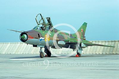 Su-17 00005 Sukhoi Su-17 Fitter Soviet 1993 by Wilfried Zetsche AirDOC Collection