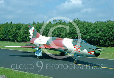 Su-17 00003 Sukhoi Su-17 Fitter Soviet 26 June 1992 by W Zetsche via AirDOC Collection