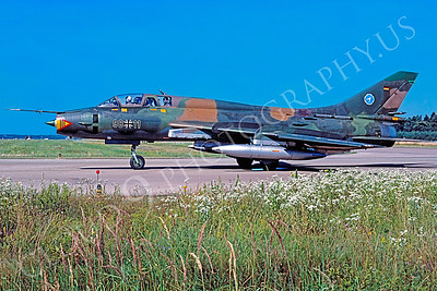 Sukhoi Su-17 Fitter 00007A Sukhoi Su-17 Fitter German Air Force 9815 July 1991 by MarinusTabak