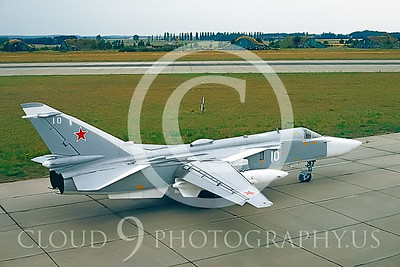 Su-24 00003 Sukhoi Su-24 Fencer Soviet 1992 by Wilfried Zetsche via AirDOC Collection