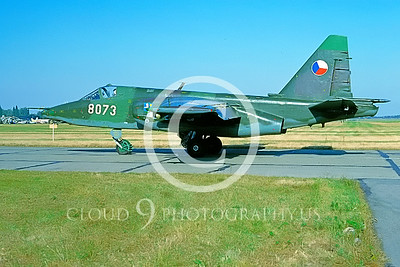 Su-25 00007 Sukhoi Su-25 Frogfoot Czech 1993 by Wilfried Zetsche