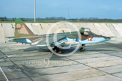 Su-25 00005 Sukhoi Su-25 Frogfoot Soviet 1993 by Wilfried Zetsche from AirDOC Collection