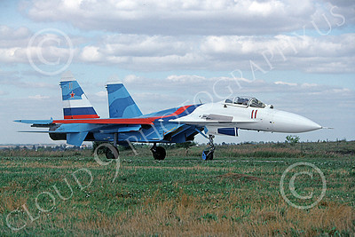 Su-27 00029 A taxing Sukhoi Su-27 Flanker Soviet Air Force 11 8-2009 military airplane picture by Wilfried Zetsche