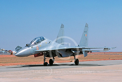 Sukhoi Su-30MK Flanker 00021 Indian Air Force February 2005 via African Aviation Slide Service