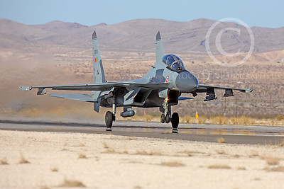 Sukhoi Su-30MK Flanker 00013 Sukhoi Su-30MK Flanker Indian Air Force SB 115 Nellis AFB by Peter J Mancus
