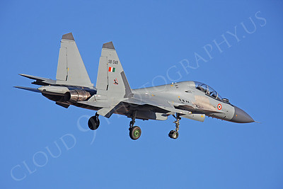 Sukhoi Su-30MK Flanker 00022 Sukhoi Su-30MK Flanker Indian Air Force SB 048 by Peter J Mancus