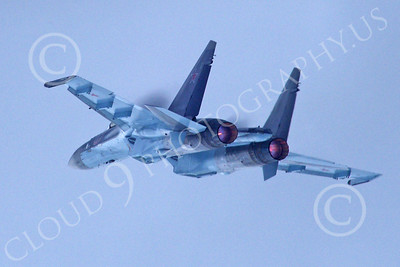 Sukhoi Su-35 00012 A flying Sukhoi Su-35 Flanker Russian Air Force jet fighter 2013 military airplane picture 2013 by Stephen W D Wolf