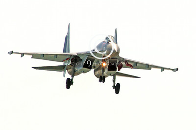 Sukhoi Su-35 00007 A landing Sukhoi Su-35 Flanker Russian Air Force jet fighter 2013 military airplane picture 2013 by Stephen W D Wolf