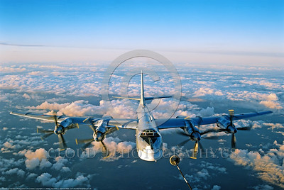 Tu -95 0005 An impressive frontal aerial refueling view of a Soviet Air Force Tupolev Tu-95 Bear strategic bomber military airplane picture by A  A  Baitov  DONEwt