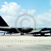 B-52 0197 A static Boeing B-52D Stratofortress USAF jet bomber Vietnam War veteran March AFB military airplane picture by Peter J Mancus